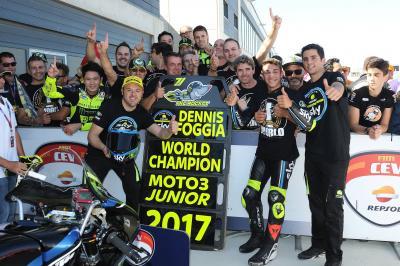 Foggia clinches Moto3™ Junior World Championship title