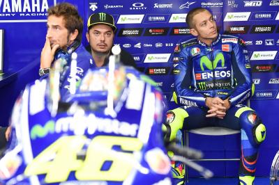 """The triple-header will be demanding for Valentino"""