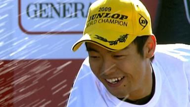 Aoyama discusses victorious 2009 season
