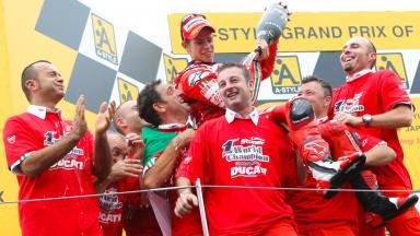 Stoner wins championship in Japan