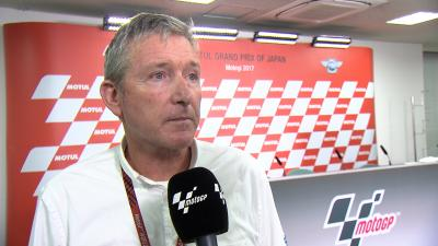 Webb on the Qualifying behaviour briefing for Moto3™