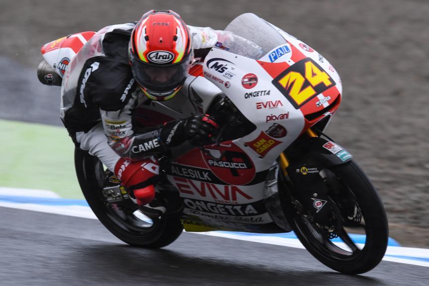 Tatsuki Suzuki, SIC58 Squadra Corse, Motul Grand Prix of Japan