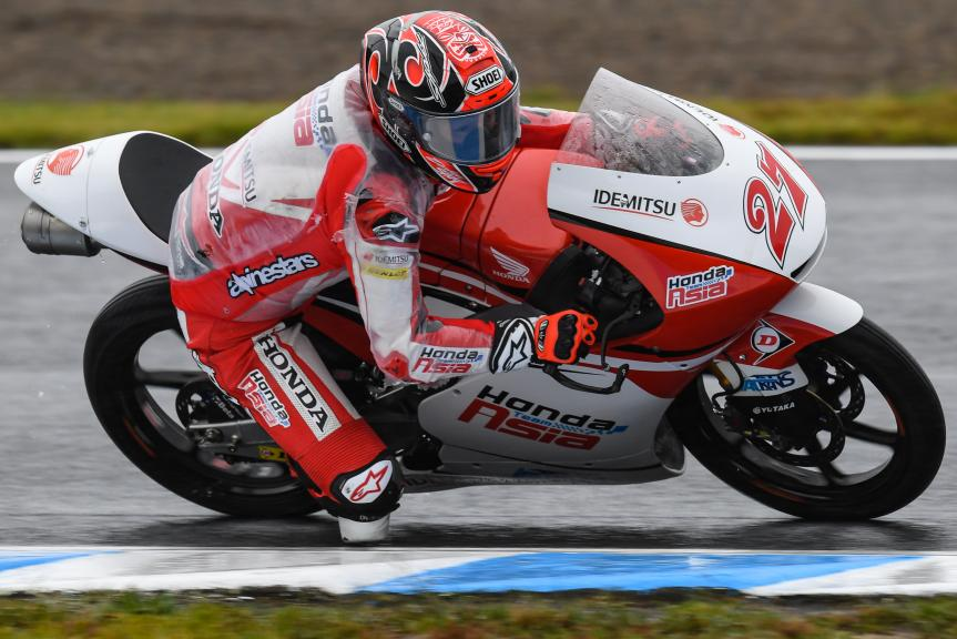 Kaito Toba, Honda Team Asia, Motul Grand Prix of Japan