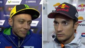 The fastest MotoGP™ riders of the day give us feedback on the Free Practice sessions at the #JapaneseGP.