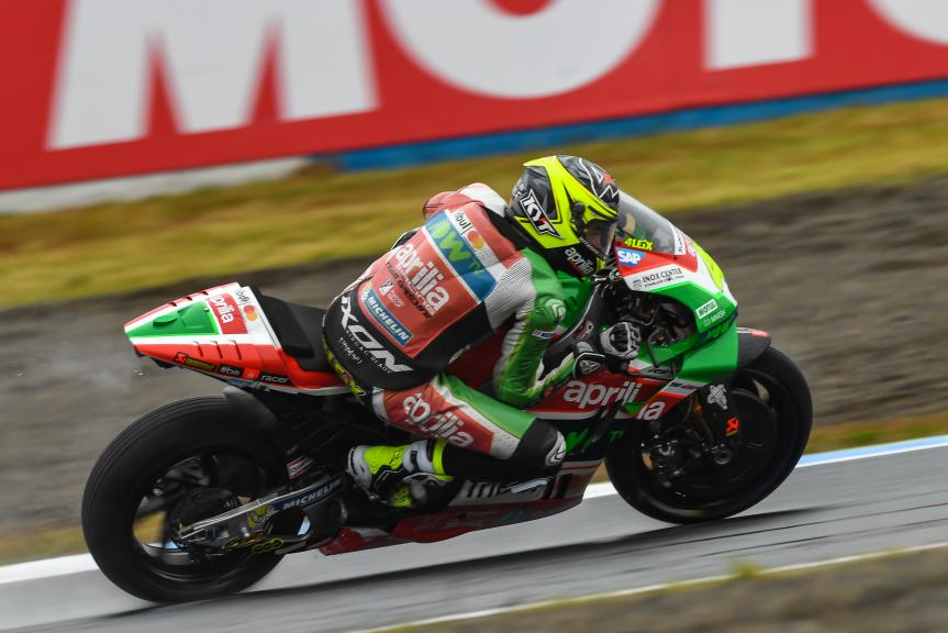 Aleix Espargaro, Aprilia Racing Team Gresini, Motul Grand Prix of Japan