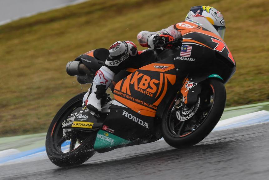 Ayumu Sasaki, SIC Racing Team, Motul Grand Prix of Japan