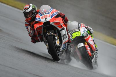 Crutchlow vs Lorenzo: disagreement on FP1 crash