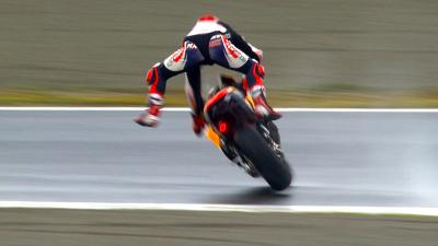 Marquez suffers big crash in FP2