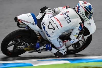 McPhee out the blocks at Motegi