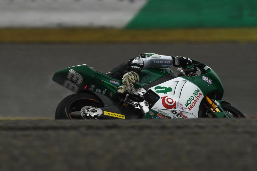 Ikuhiro Enokido, Teleru Motobum Racing Team, Motul Grand Prix of Japan