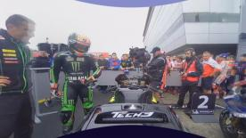 Johann Zarco took a shock pole position at the Twin Ring Motegi, and now you can enjoy his celebration lap in 360 OnBoard