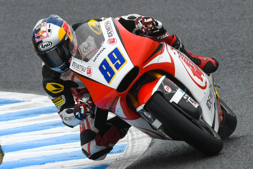 Khairul Idham Pawi, Idemitsu Honda Team Asia, Motul Grand Prix of Japan
