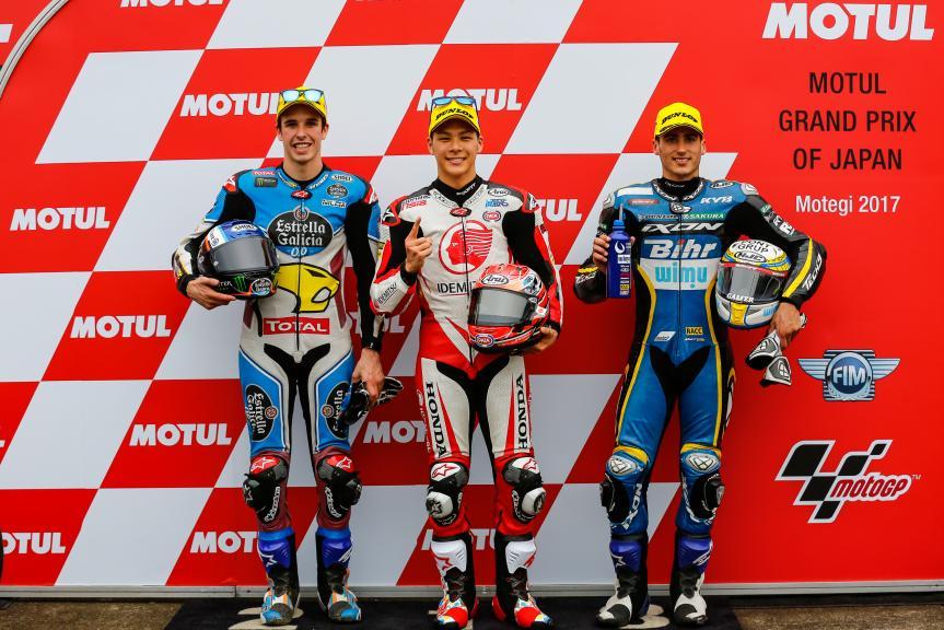 Takaaki Nakagami, Alex Marquez, Xavi Vierge, Idemitsu Honda Team Asia, Motul Grand Prix of Japan
