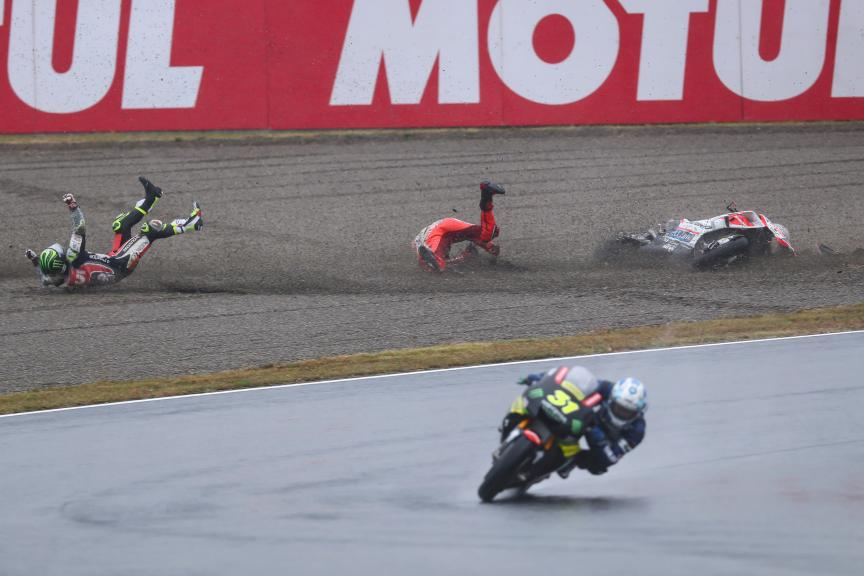 Jorge Lorenzo, Cal Crutchlow, Motul Grand Prix of Japan