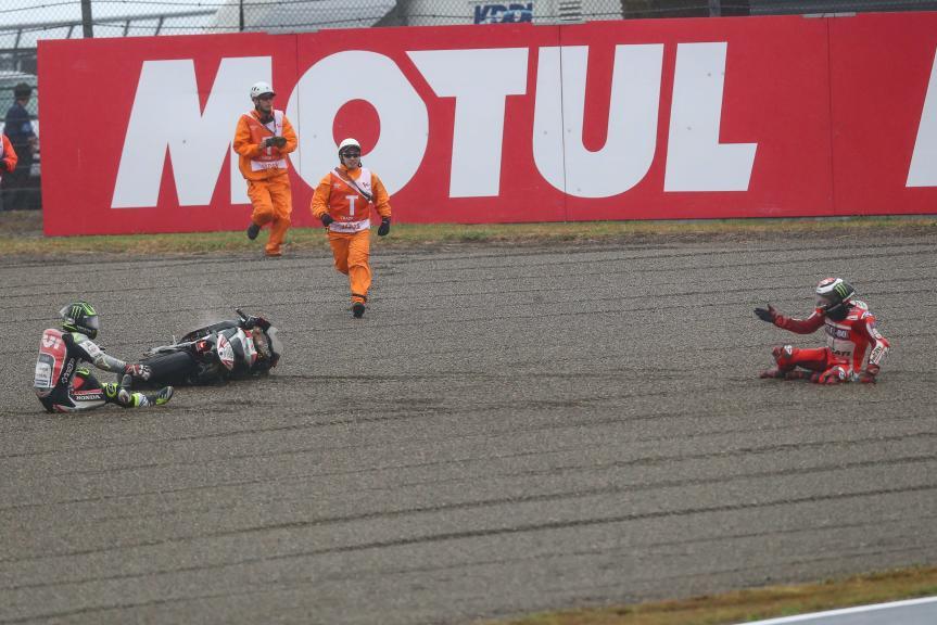 Jorge Lorenzo, Cal Crutchlow, Motul Grand Prix of Japan