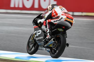 Pagliani dirige les derniers essais libres en Moto3™