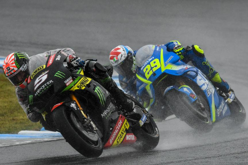 Johann Zarco, Monster Yamaha Tech 3, Andrea Iannone, Team Suzuki Ecstar, Motul Grand Prix of Japan