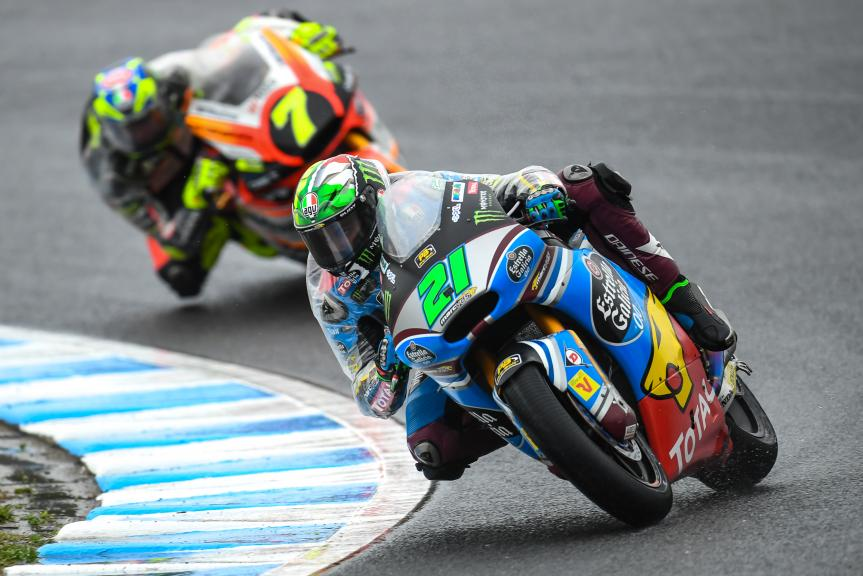 Franco Morbidelli, EG 0,0 Marc VDS, Motul Grand Prix of Japan, Lorenzo Baldassari, Forward Racing Team, Motul Grand Prix of Japan