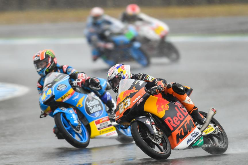 Niccolo Antonelli, Red Bull KTM Ajo, Aron Canet, Estrella Galicia 0,0, Motul Grand Prix of Japan