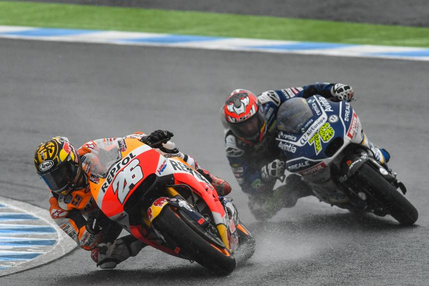 Dani Pedrosa, Repsol Honda Team, Loris Baz, Reale Avintia Racing, Motul Grand Prix of Japan