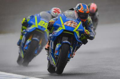 Iannone and Rins take stunning top five for Suzuki