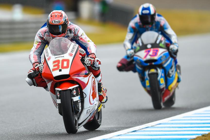 Takaaki Nakagami, Idemitsu Honda Team Asia, Alex Marquez, EG 0,0 Marc VDS, Motul Grand Prix of Japan