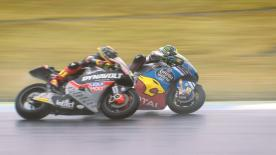 Some of the best overtaking moves from the Moto2 & Moto3 #JapaneseGP races.  1. Andrea Migno (Moto3) 104 points 2. Brad Binder (Moto2) 98 points 3. Tetsuta Nagashima (Moto2) 86 points 4. Hafizh Syahrin (Moto2) 83 points 5. Khairul Idham Pawi (Moto2) 79 points