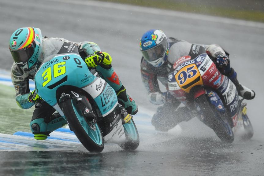 Joan Mir, Leopard Racing, Jules Danilo, Marinelli Rivacold Snipers, Motul Grand Prix of Japan