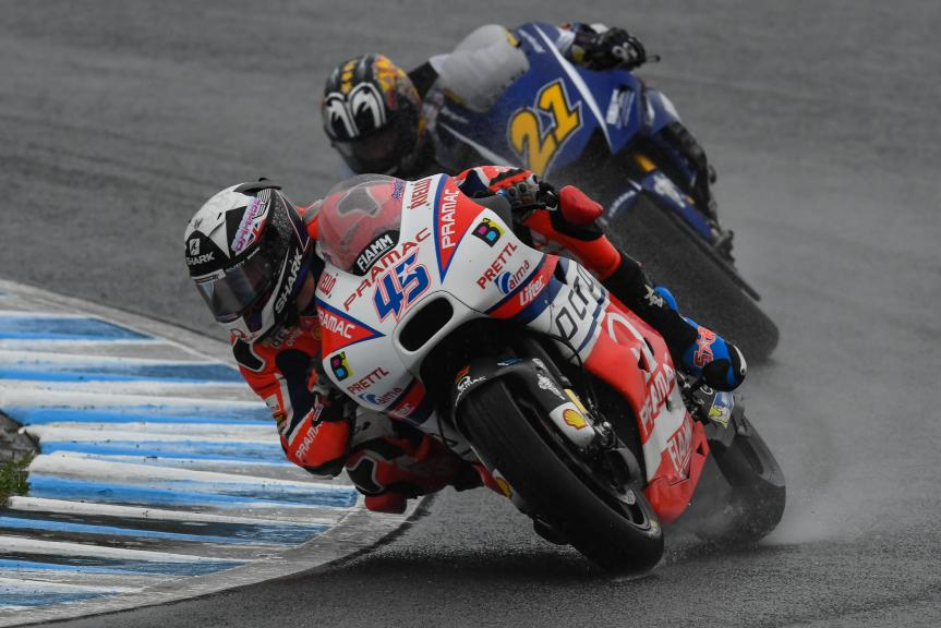 Scott Redding, Octo Pramac Racing, Katsuyuki Nakasuga, Yamalube Yamaha Factory Racing, Motul Grand Prix of Japan
