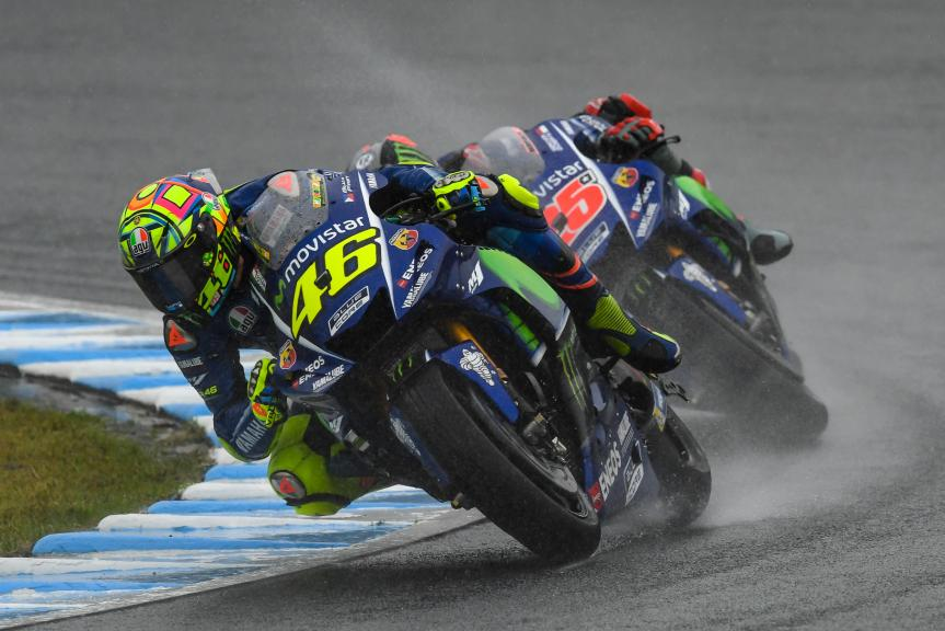 Valentino Rossi, Movistar Yamaha MotoGP, Maverick Viñales, Movistar Yamaha MotoGP, Motul Grand Prix of Japan
