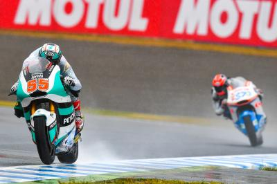 Syahrin domine le warm-up Moto2™ au Japon