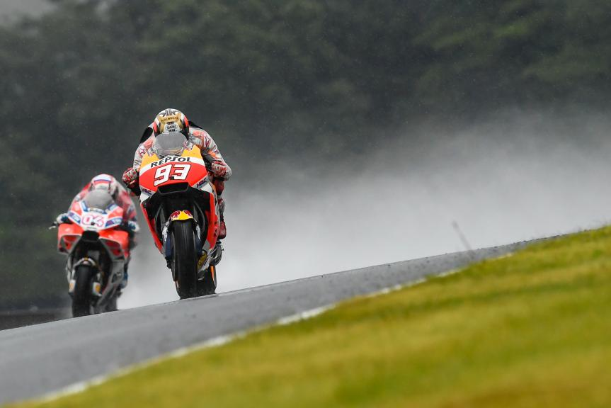Marc Marquez, Repsol Honda Team, Andrea Dovizioso, Ducati Team, Motul Grand Prix of Japan