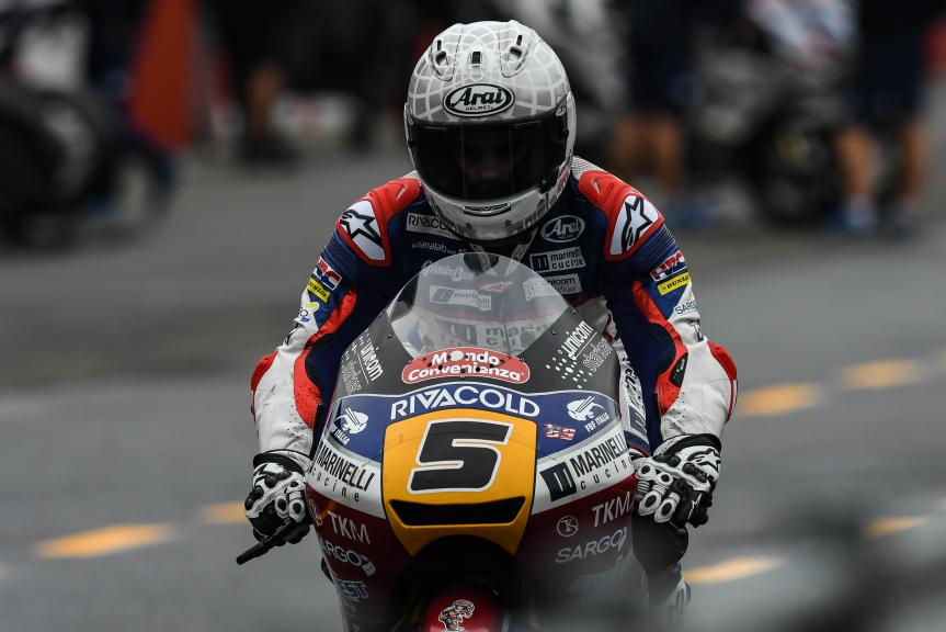 Romano Fenati, Marinelli Rivacold Snipers, Motul Grand Prix of Japan