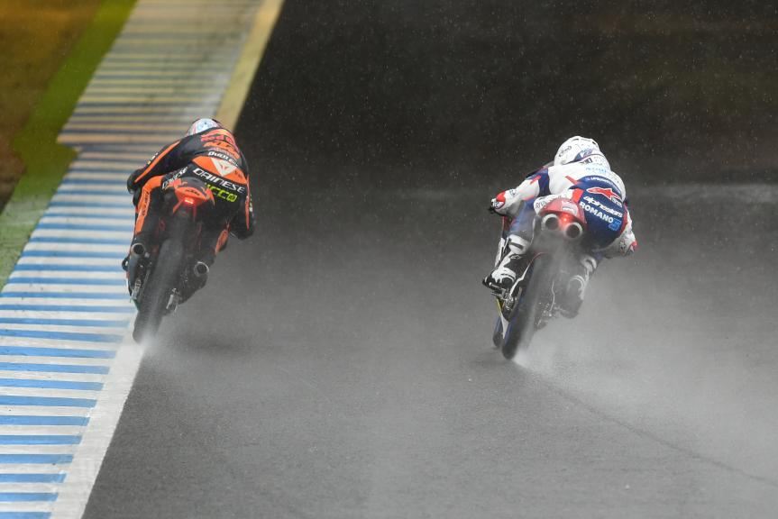 Romano Fenati, Marinelli Rivacold Snipers, Niccolo Antonelli, Red Bull KTM Ajo, Motul Grand Prix of Japan