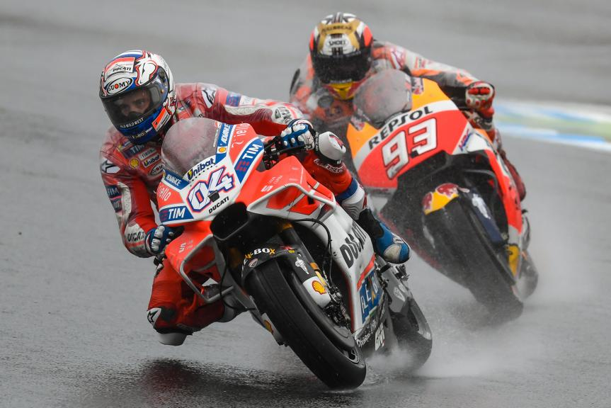 Andrea Dovizioso, Marc Marquez, Motul Grand Prix of Japan