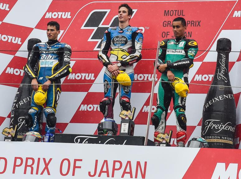 Alex Marquez, Xavi Vierge, Hafizh Syahrin, Petronas Raceline Malaysia, Motul Grand Prix of Japan