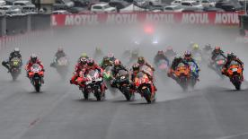 All the action from the full race session of the MotoGP™ World Championship at the #JapaneseGP.