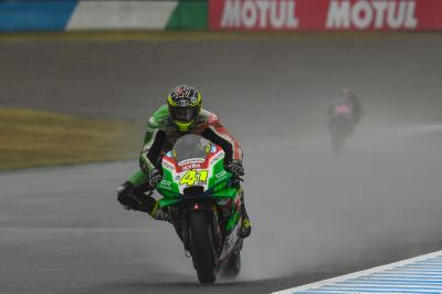 Aquaplaning leaves Aleix Espargaro disappointed with P7