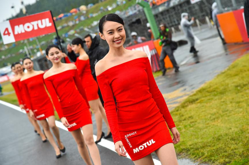Paddock Girls, Motul Grand Prix of Japan
