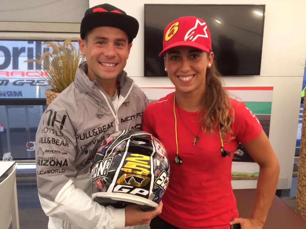 Maria Herrera replaces injured Arenas at Aspar | MotoGP™