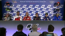 Everything you need to know from the official opening press conference at the #AustralianGP.