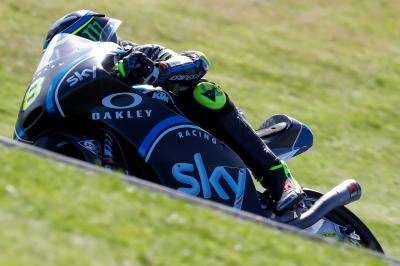 Bulega on top in FP1 despite crash