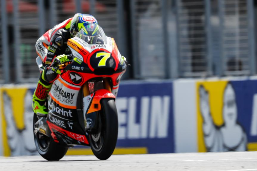 Lorenzo Baldassari, Forward Racing Team, Michelin® Australian Motorcycle Grand Prix