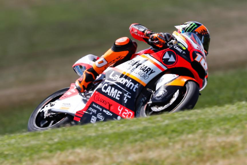 Luca Marini, Forward Racing Team, Michelin® Australian Motorcycle Grand Prix