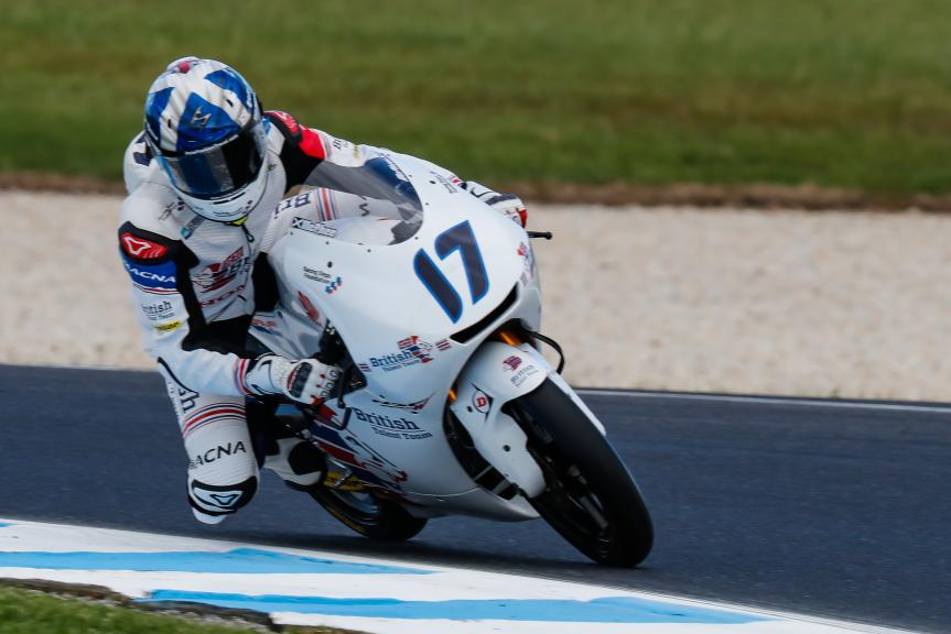 John Mcphee, British Talent Team, Michelin® Australian Motorcycle Grand Prix