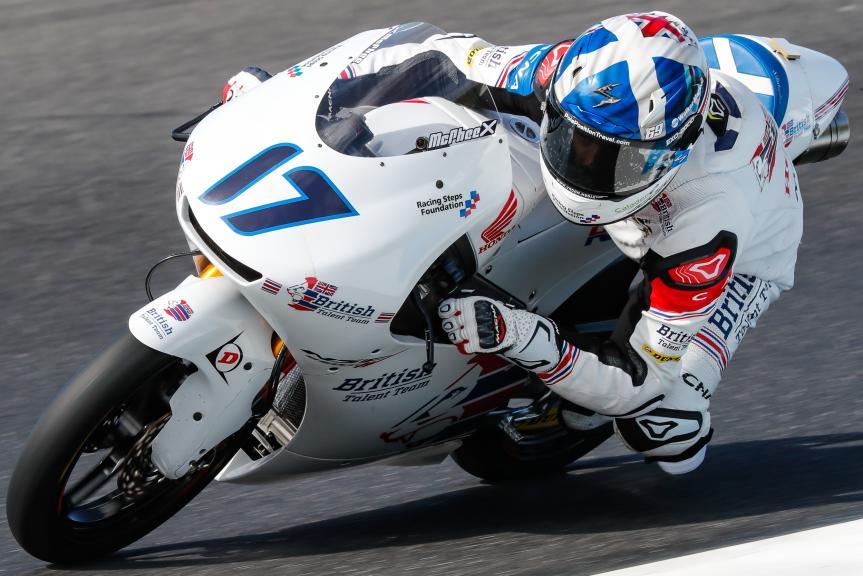 John Mcphee, British Talent Team, Michelin® Australian Motorcycle Grand Prix