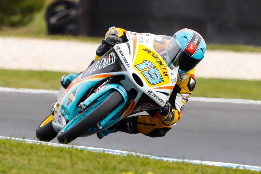 Gabriel Rodrigo, RBA BOE Racing Team, Michelin® Australian Motorcycle Grand Prix
