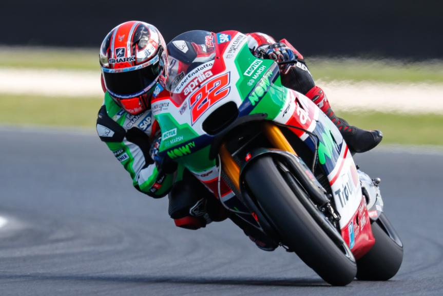 Sam Lowes, Aprilia Racing Team Gresini, Michelin® Australian Motorcycle Grand Prix