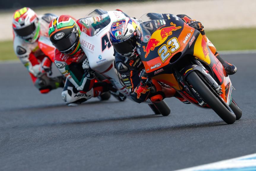 Niccolo Antonelli, Red Bull KTM Ajo, Michelin® Australian Motorcycle Grand Prix