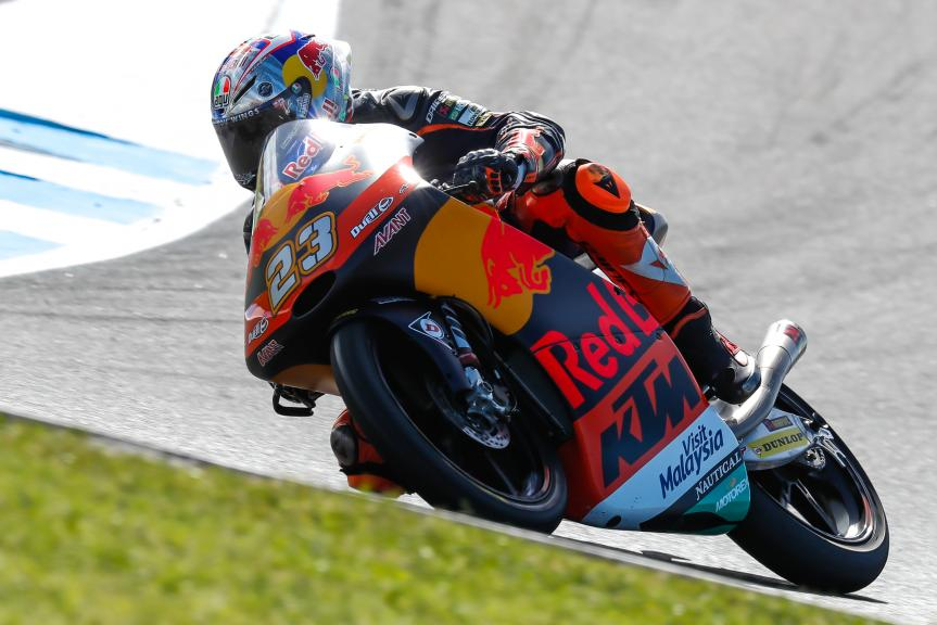 Niccolo Antonelli, Red Bull KTM Ajo, Michelin® Australian Motorcycle Grand Prix